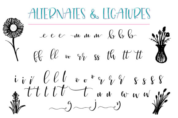 Just Write Font By joanne.hewitt Image 10
