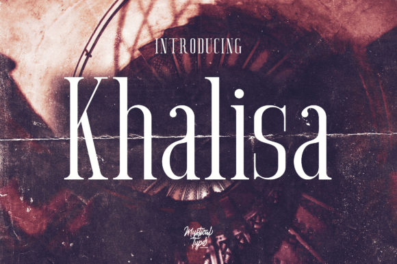 Print on Demand: Khalisa Serif Font By MysticalType
