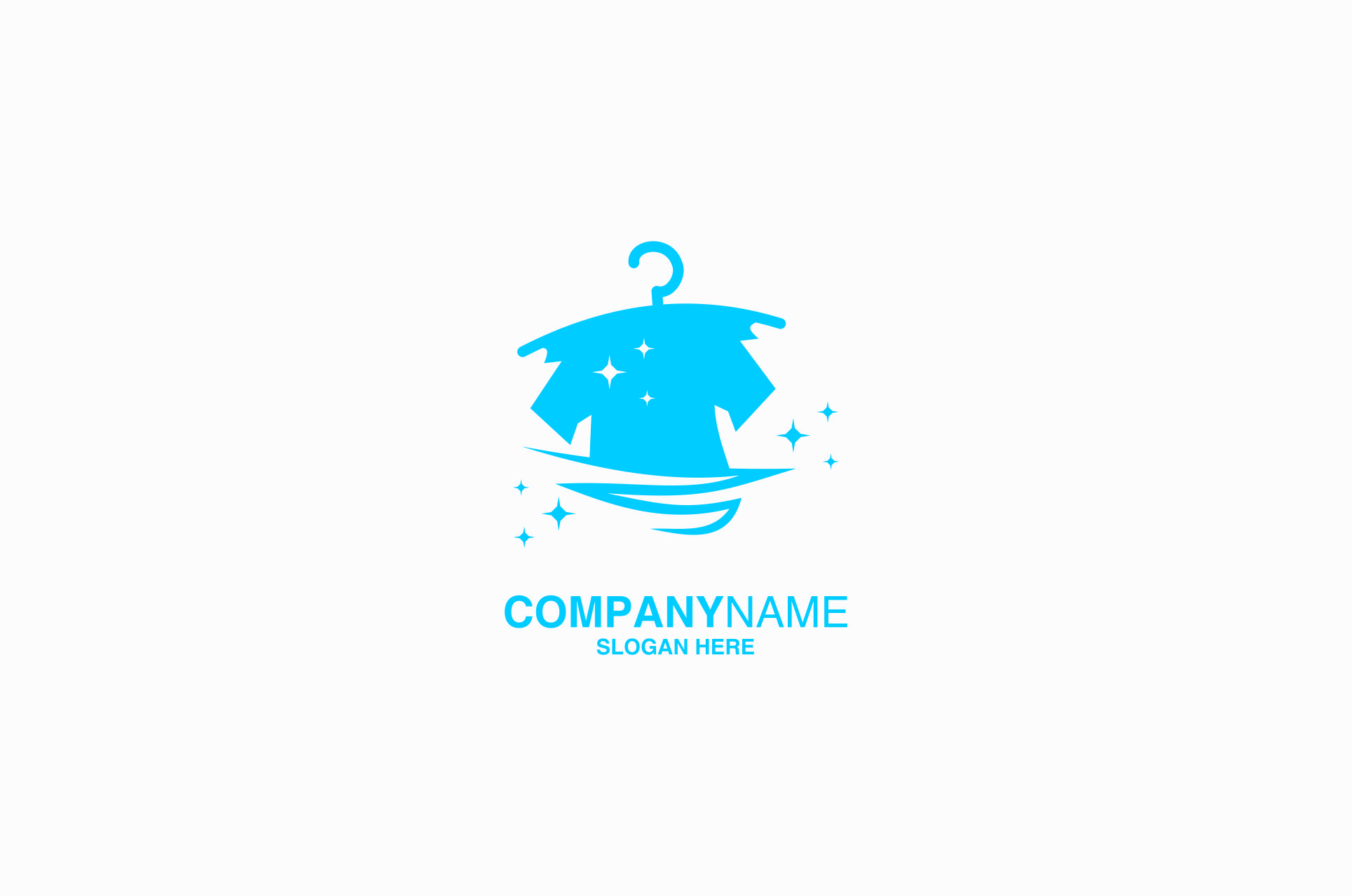 laundry logo design vector graphic by ahsancomp studio creative fabrica creative fabrica