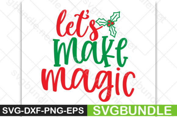 Print on Demand: Let's Make Magic Graphic Crafts By svgbundle.net