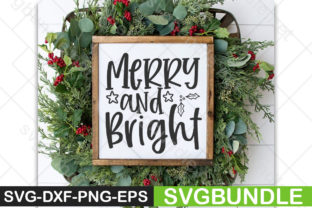 Print on Demand: Merry and Bright Graphic Print Templates By Designartstore