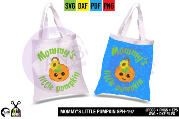 Mommys Little Pumpkin Graphic Crafts By AMBillustrations - Image 2