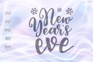 Download Free New Years Eve Happy New Year Party Grafico Por Digitals By Hanna for Cricut Explore, Silhouette and other cutting machines.
