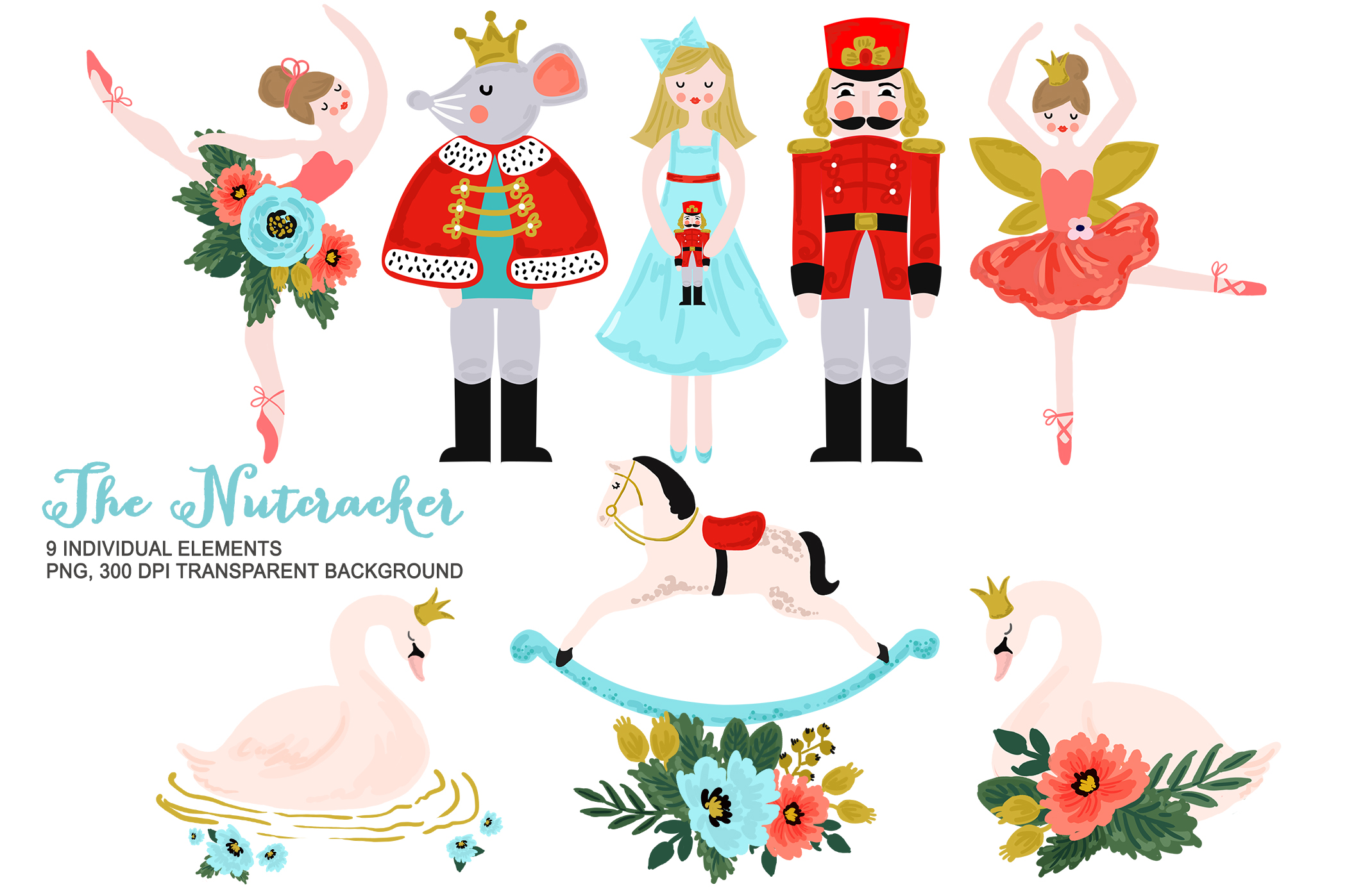 Download Free Nutcracker Clipart Christmas Ballet Graphic By Kabankova for Cricut Explore, Silhouette and other cutting machines.