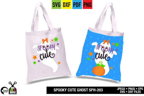 Spooky Halloween Ghost Graphic Crafts By AMBillustrations - Image 2