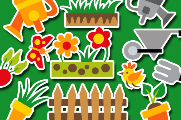 Print on Demand: Spring Gardening Graphic Illustrations By Revidevi - Image 3