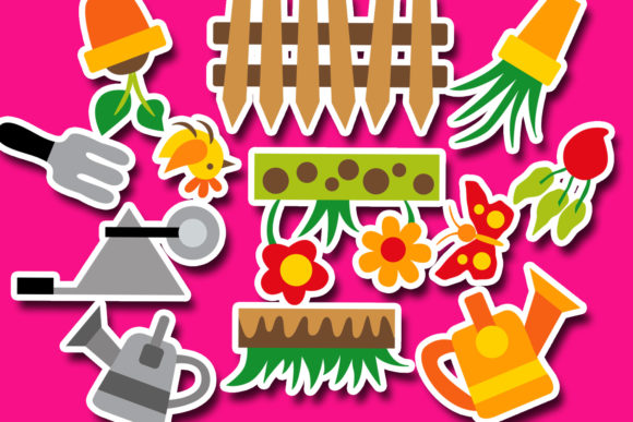 Print on Demand: Spring Gardening Graphic Illustrations By Revidevi - Image 4