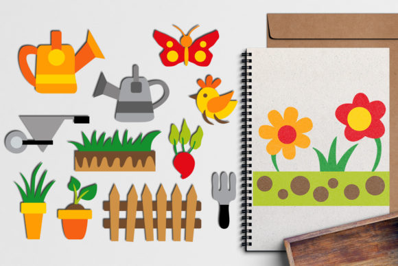 Print on Demand: Spring Gardening Graphic Illustrations By Revidevi - Image 1