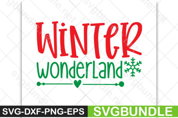 Print on Demand: Winter Wonderland Graphic Crafts By svgbundle.net