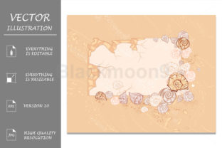 Banner with Seashells Graphic By Blackmoon9