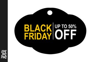 Black Friday Tags - Lable Graphic By Arief Sapta Adjie