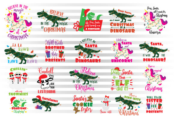 Download Free Christmas Bundle For Kids Graphic By Illustrator Guru Creative SVG Cut Files
