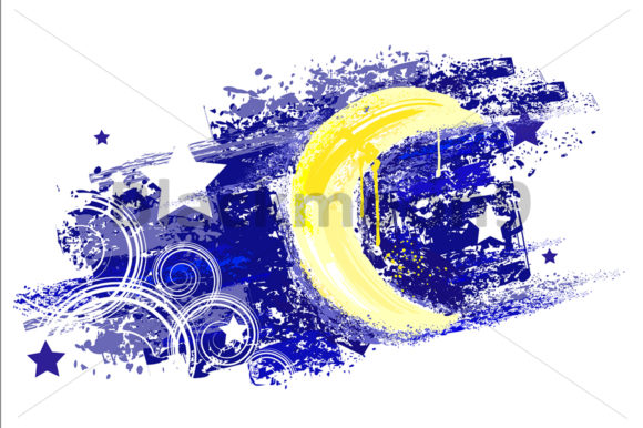 Moon Painted Graphic Illustrations By Blackmoon9