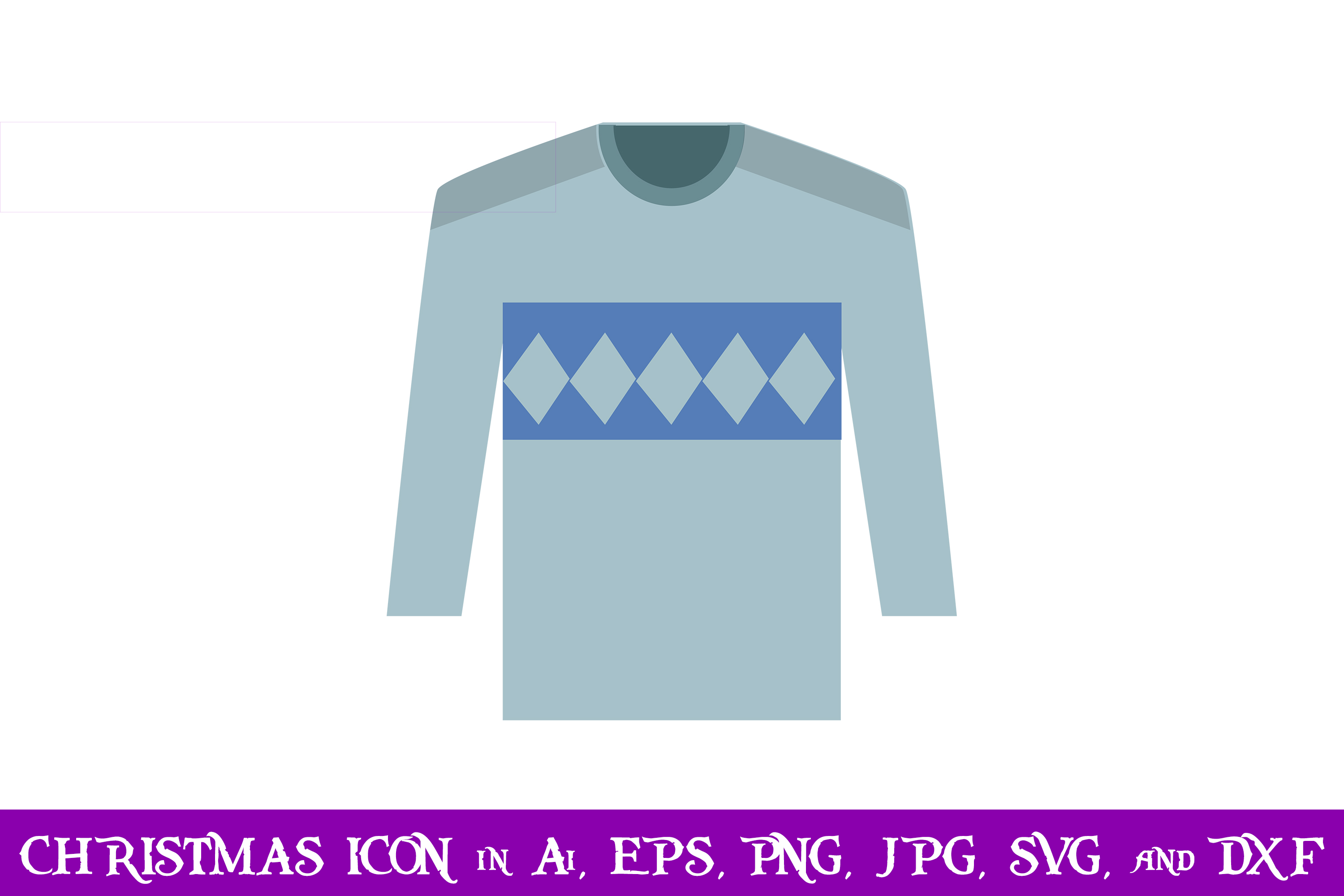 Download Free Sweater Christmas Icon Graphic By Purplespoonpirates Creative SVG Cut Files