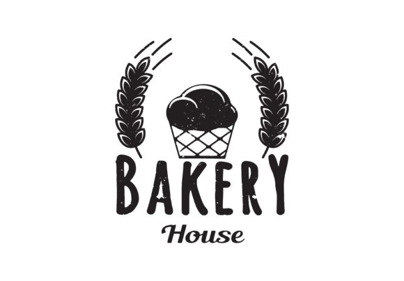 Download Free Bakery Badge Logo Icon Modern Style Vec Graphic By for Cricut Explore, Silhouette and other cutting machines.