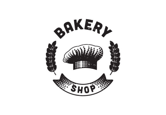 Download Free Bakery Bakehouse Logo Or Label Home Ba Grafico Por for Cricut Explore, Silhouette and other cutting machines.