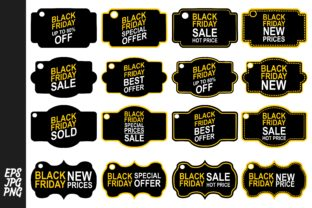Black Friday Tags - Label Bundle Graphic By Arief Sapta Adjie