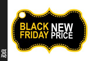 Black Friday Tags - Label Graphic By Arief Sapta Adjie