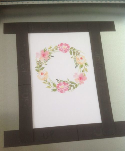 Download Free How To Create A Floral Wreath Foil Card Creative Fabrica for Cricut Explore, Silhouette and other cutting machines.