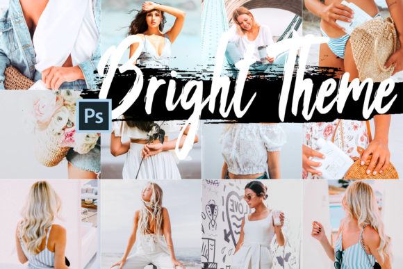 5 Bright Photoshop Actions Graphic By 3Motional