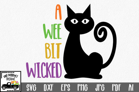 A Wee Bit Wicked Graphic Crafts By oldmarketdesigns