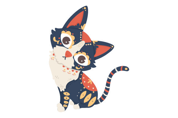 Alebrije Cat Mexico Craft Cut File By Creative Fabrica Crafts