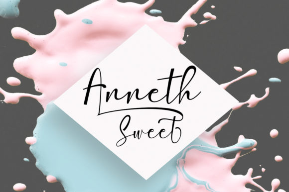 Print on Demand: Amlight Script & Handwritten Font By StudioRz - Image 3