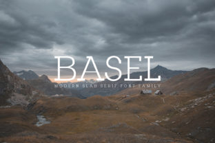 Basel Family Font By Creative Tacos