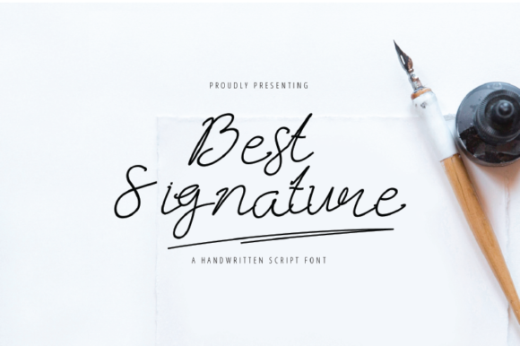 Print on Demand: Best Signature Script & Handwritten Font By nirmala.graphics