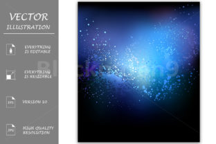 Blue Abstract Background Graphic By Blackmoon9