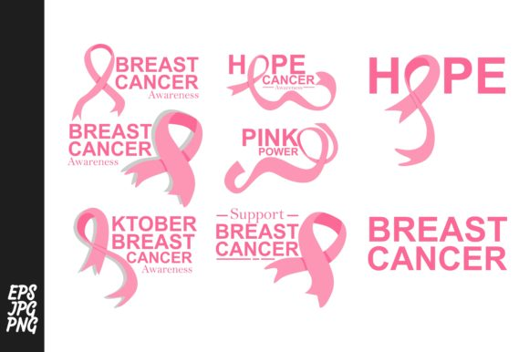 Print on Demand: Breast Cancer Bundle Graphic Crafts By Arief Sapta Adjie