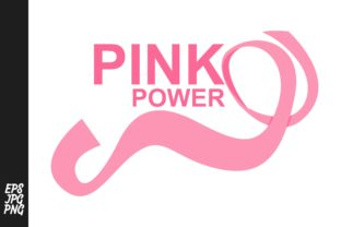 Breast Cancer - Pink Power Graphic By Arief Sapta Adjie