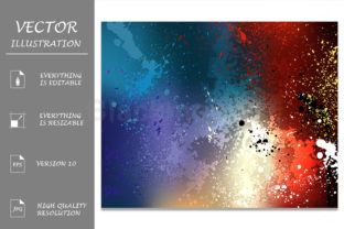 Bright Colorful Background Graphic By Blackmoon9