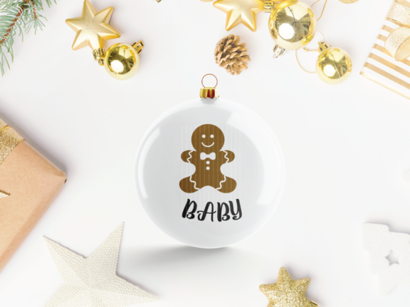 Christmas Gingerbread Baking Family Graphic Crafts By ElsieLovesDesign - Image 4