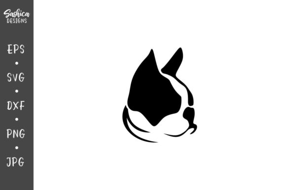 Download Free French Bulldog And Cat Vector Graphic By Sashica Designs for Cricut Explore, Silhouette and other cutting machines.