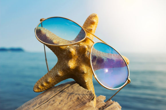 Funny Sea Starfish in a Sun Glasses Graphic By fleurartmariia Image 1