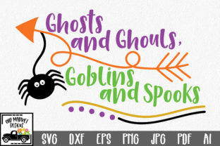Ghosts and Ghouls Goblins and Spooks Graphic By oldmarketdesigns