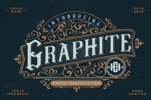 Graphite Display Font By HansCo