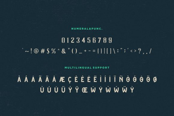 Print on Demand: Graphite Display Font By HansCo - Image 8