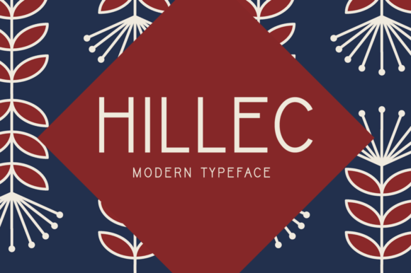 Hillec Display Font By Imposing Fonts