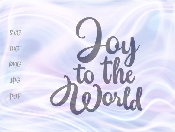 Download Free Joy To The World Winter Holidays Sign Graphic By Digitals By for Cricut Explore, Silhouette and other cutting machines.