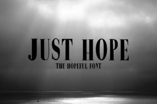 Just Hope Font By CuriousxxGraphics
