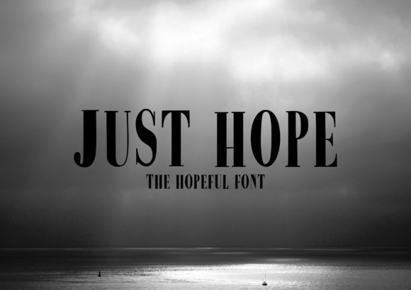 Print on Demand: Just Hope Serif Font By CuriousxxGraphics