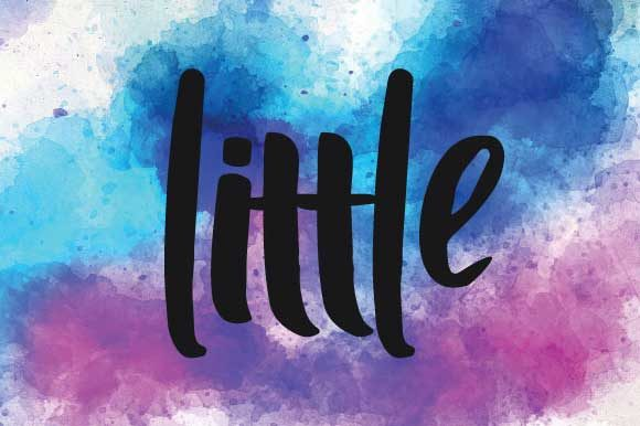 Print on Demand: Little Script & Handwritten Font By goodigital