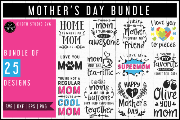 Download Free Mega Bundle Graphic By 19th Studio Svg Creative Fabrica for Cricut Explore, Silhouette and other cutting machines.