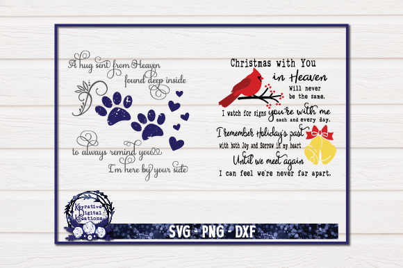 Download Free Memorial Bundle Memorial Graphic By Kayla Griffin Creative Fabrica for Cricut Explore, Silhouette and other cutting machines.