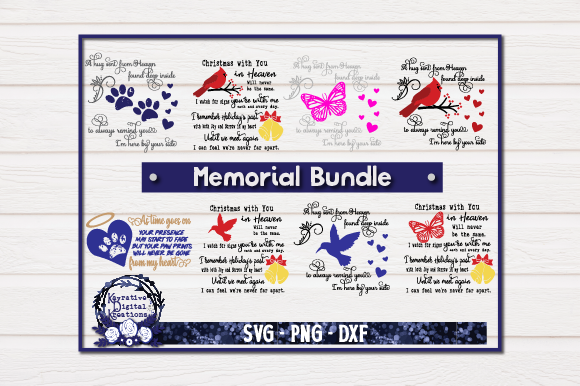 Memorial Bundle Memorial Graphic Crafts By Kayla Griffin