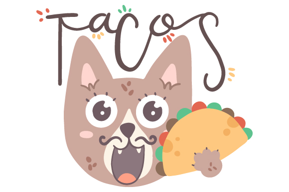 Download Free Mexican Cat With Taco Svg Cut File By Creative Fabrica Crafts for Cricut Explore, Silhouette and other cutting machines.