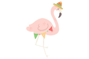 Mexican Flamingo Craft Design By Creative Fabrica Crafts