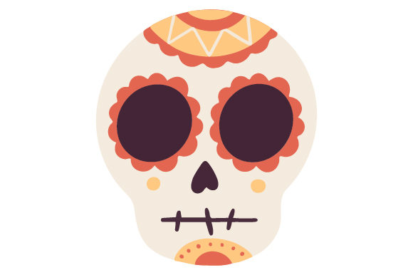 Download Free Mexican Skull Svg Cut File By Creative Fabrica Crafts Creative for Cricut Explore, Silhouette and other cutting machines.